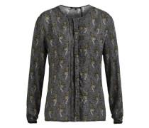 Shirt 'bekasi' goldgelb / dunkelgrau