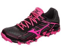 Trail Laufschuh 'Wave Hayate 3' pink / schwarz