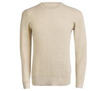 Strickpullover 'Ryan Urban Braid' beige