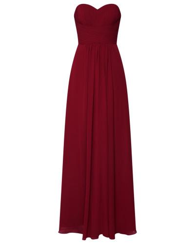Abendkleid 'mc181071' dunkelrot