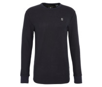 Shirt 'Bonded relaxed r t l/s' dunkelblau