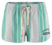 Strandshorts grau / mint
