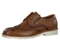 Guido Business Schuhe creme / braun / rostbraun / pueblo
