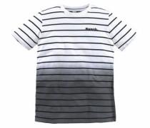 T-Shirt dunkelgrau / schwarz / weiß