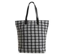 Shopper 'Patrice' schwarz / weiß