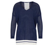Oversized Pullover 'Vanni the Pullover' blau