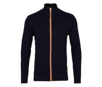 Cardigan 'Erik Zip' navy