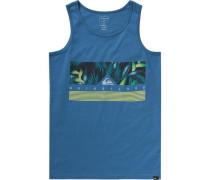 Top 'jungle' für Jungen blau / dunkelgrün