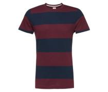 T-Shirt 'Cope' rot / blau