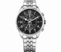 Multifunktionsuhr »Casual Sport 1791276« silber