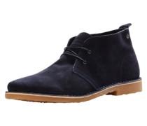 Wildleder-Stiefel dunkelblau