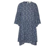 Kleid 'Garner' creme / blau