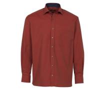 Langarm Hemd Comfort FIT blau / rot