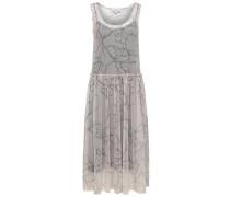 Ärmelloses -Kleid rosa / schwarz
