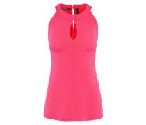 Bluse 'Halterneck' lila / pink