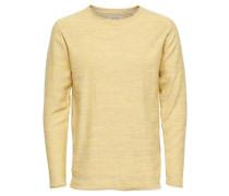 Pullover 'onsSATRE' pastellgelb