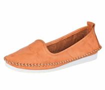 Slipper orange / weiß