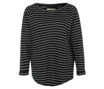 3/4-Arm-Shirt mit Taschen 'Odelia' schwarz