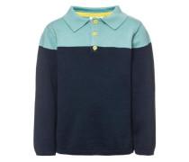 Poloshirt 'nitwolo' blau / türkis
