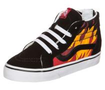 Sk8-Hi Zip Flame Sneaker Kleinkinder schwarz