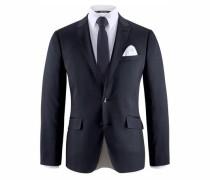 Anzug 4-teilig (Set 4 tlg. mit Krawatte und Einstecktuch) marine