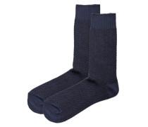 Socken 2er-Pack blau