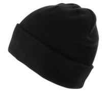 Mütze 'solid RIB Hat' schwarz