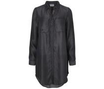 Langes Hemd schwarz