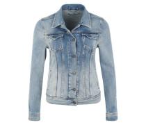 Denimjacke im Vintage Look 'Thrift' blue denim