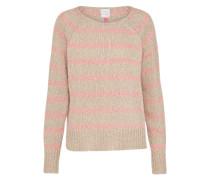 Pullover 'Åsa' beige / rosa