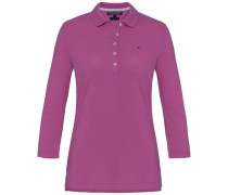 Poloshirt 'new Chiara STR PQ Polo 3/4 Slv' himbeer / dunkelpink