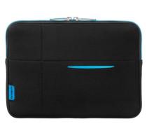 Airglow Sleeves Laptop-Hülle 335 cm neonblau / schwarz