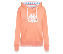 Sweatshirt 'authentic Chloe' koralle