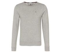 Sweatshirt in Melange grau