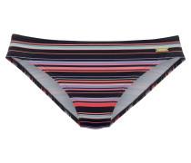 Bikini-Hose rosa / schwarz / weiß
