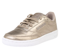 Sneaker 'Club C85 Melted Pearl' gold