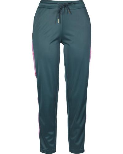 Track Pants smaragd / pink