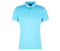 Poloshirt mit Muster-Details