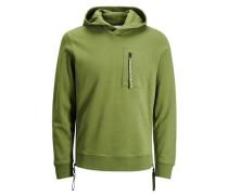 Trendiges Sweatshirt grün