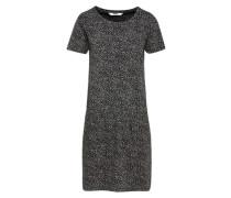 Sommerkleid 'Miko' schwarz / weiß