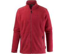 'Midnight Moon' Fleecejacke rot