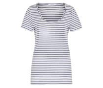 Shirt 'Nobel Tee Stripe 3173' blau / weiß