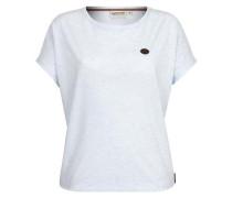 T-Shirt 'Schnella Baustella Iii' hellblau