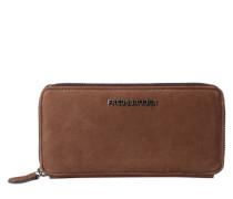 Schlichte Brieftasche braun
