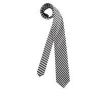 Krawatte grau / schwarz