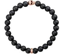 Armband 'Armband A1510-444-11' rosegold / schwarz