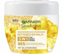 Skin Active Botanischer Balm Honig« Gesichtspflege gelb / weiß