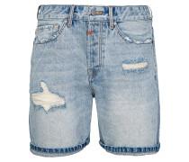 Jeanshorts blau