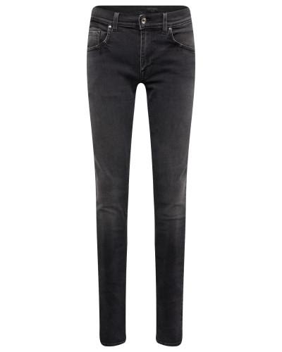 Jeans 'slim' black denim