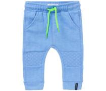 Jogginghose Dover blau / neongrün